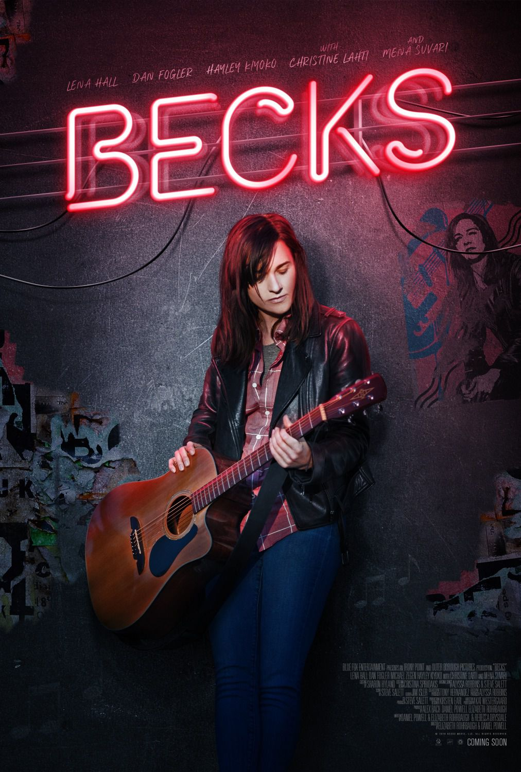 Becks - music film poster