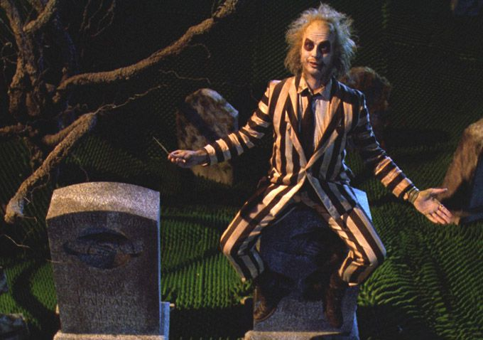 Beetlejuice by Tim Burton 1988 Classic 80s Fantasy Ghost Comedy