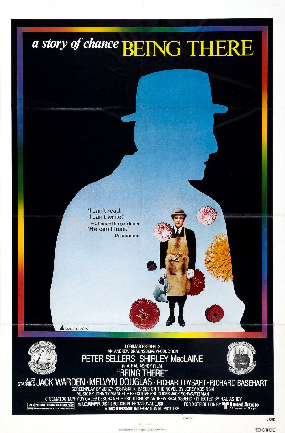 Being There - Oltre il Giardino (1979) - Cast: Peter Sellers, Shirley MacLaine, Melvyn Douglas, Jack Warden - film poster