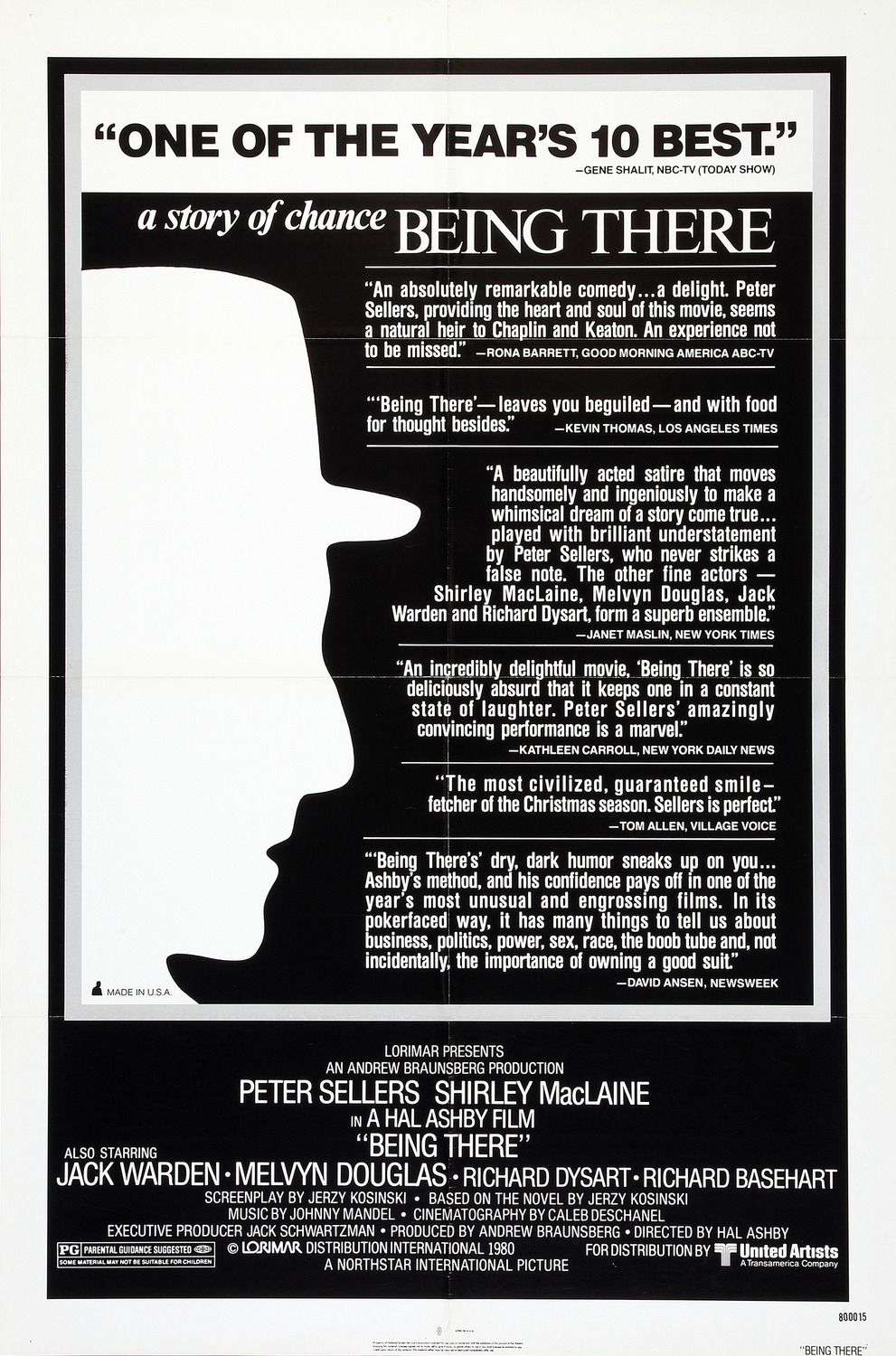 Being There - Oltre il Giardino (1979) - film poster