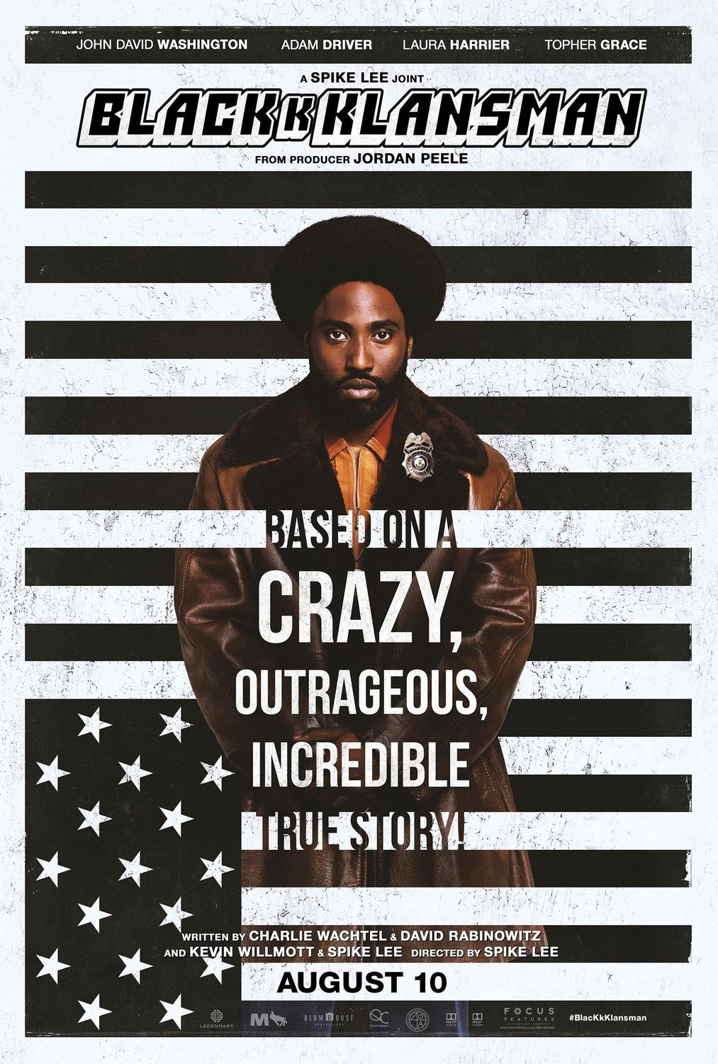 Blackkklansman 2018 by Spike Lee film poster