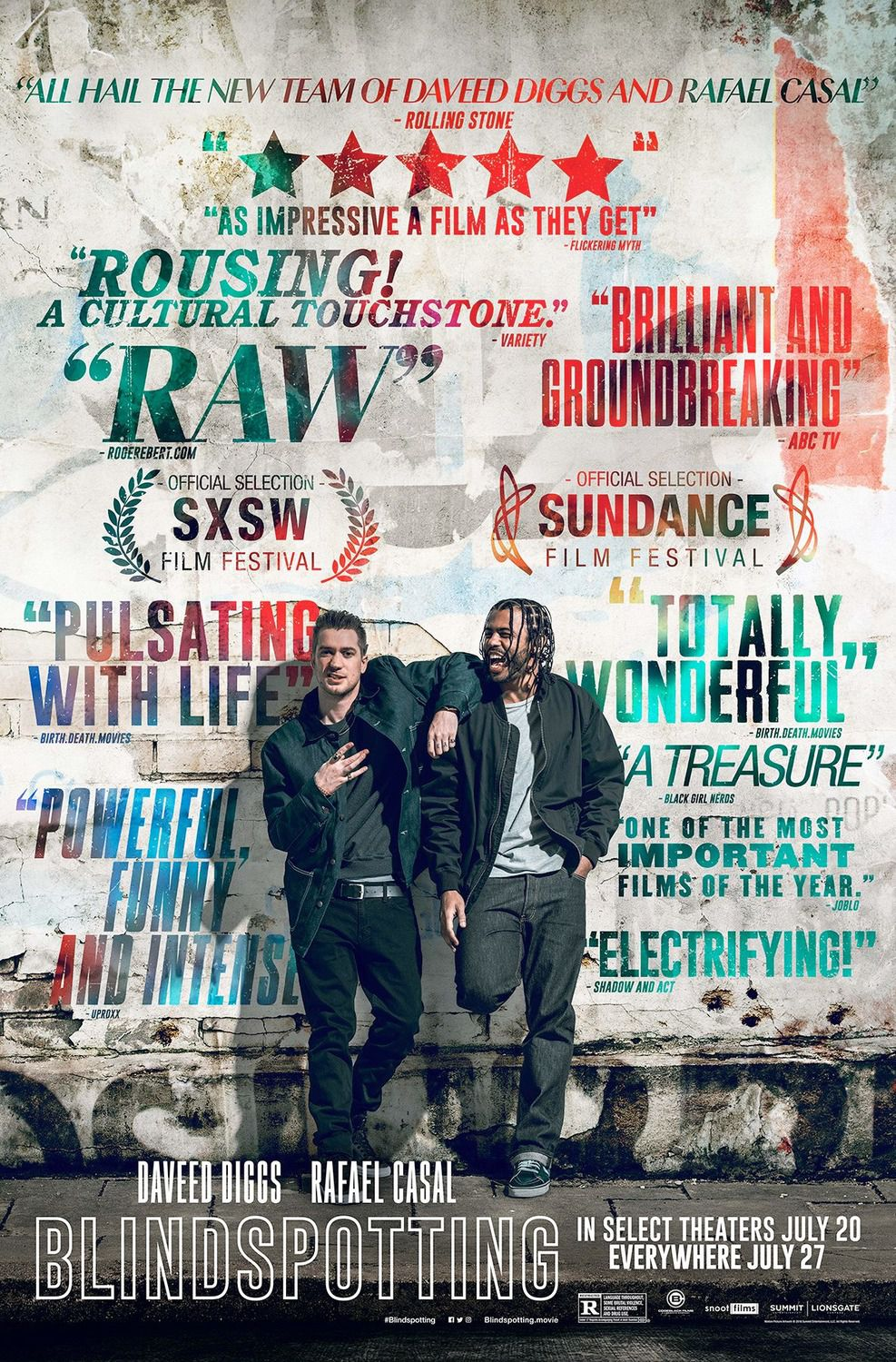 Blindspotting - film poster 2018