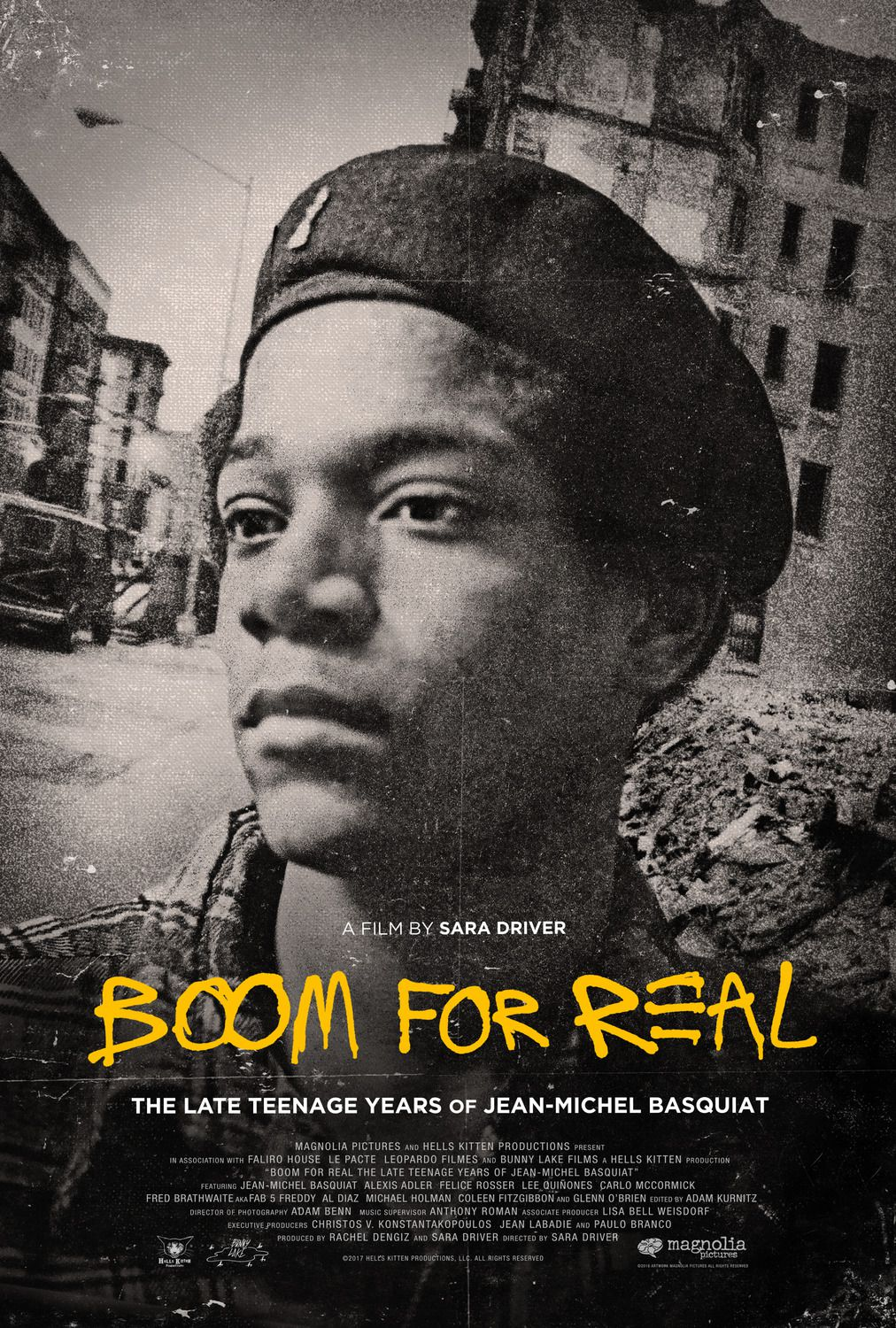 Boom for Real the Late Teenage Years of Jean-Michel Basquiat (2018) film poster