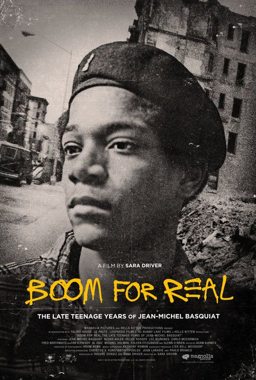 Boom for Real the Late Teenage Years of Jean-Michel Basquiat (2018)