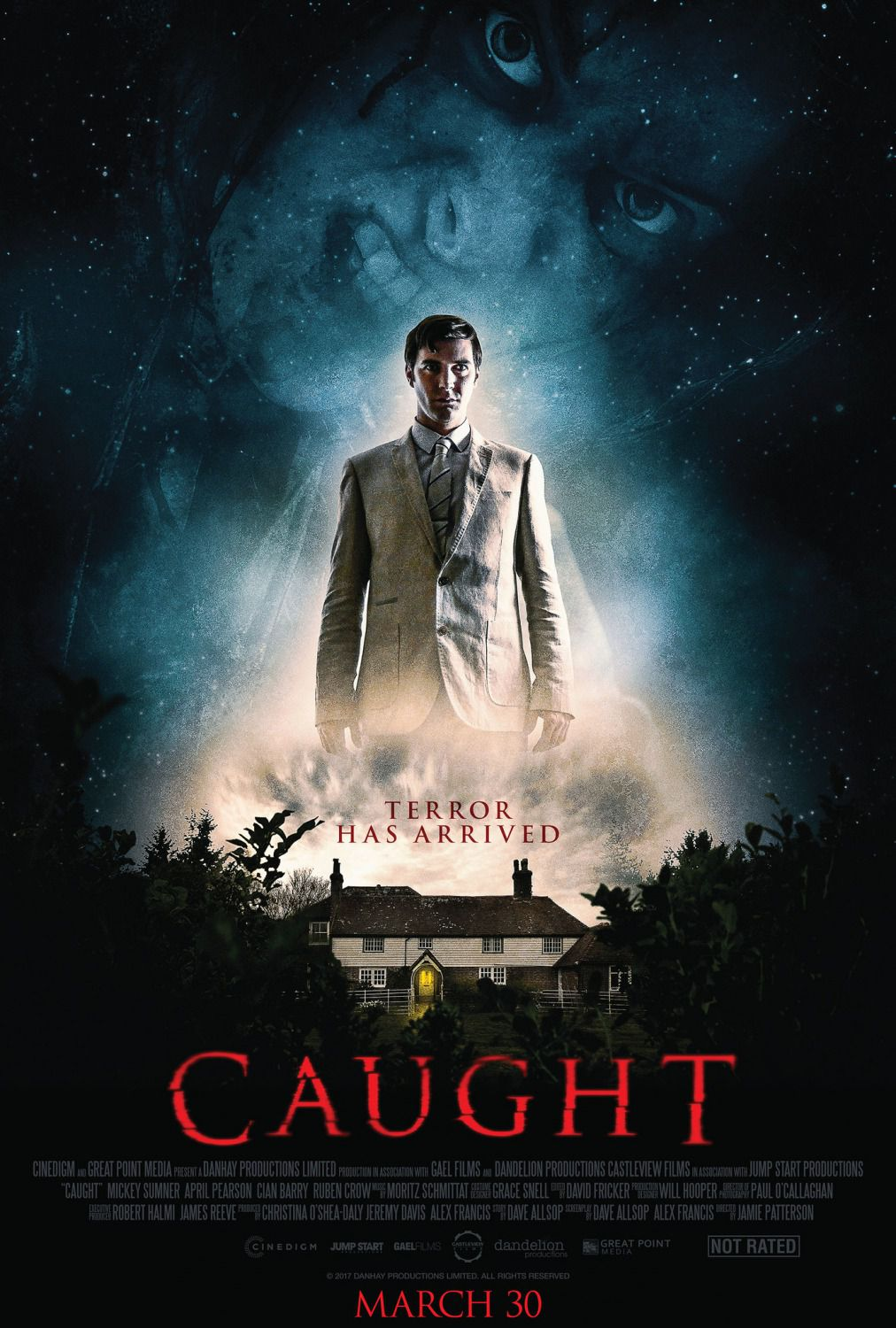 Caught - horror film poster 2018