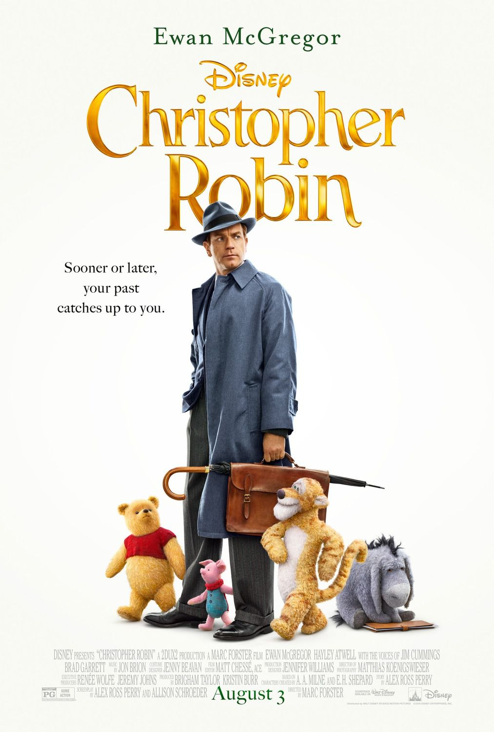 Christopher Robin (2018) - adventure film poster London