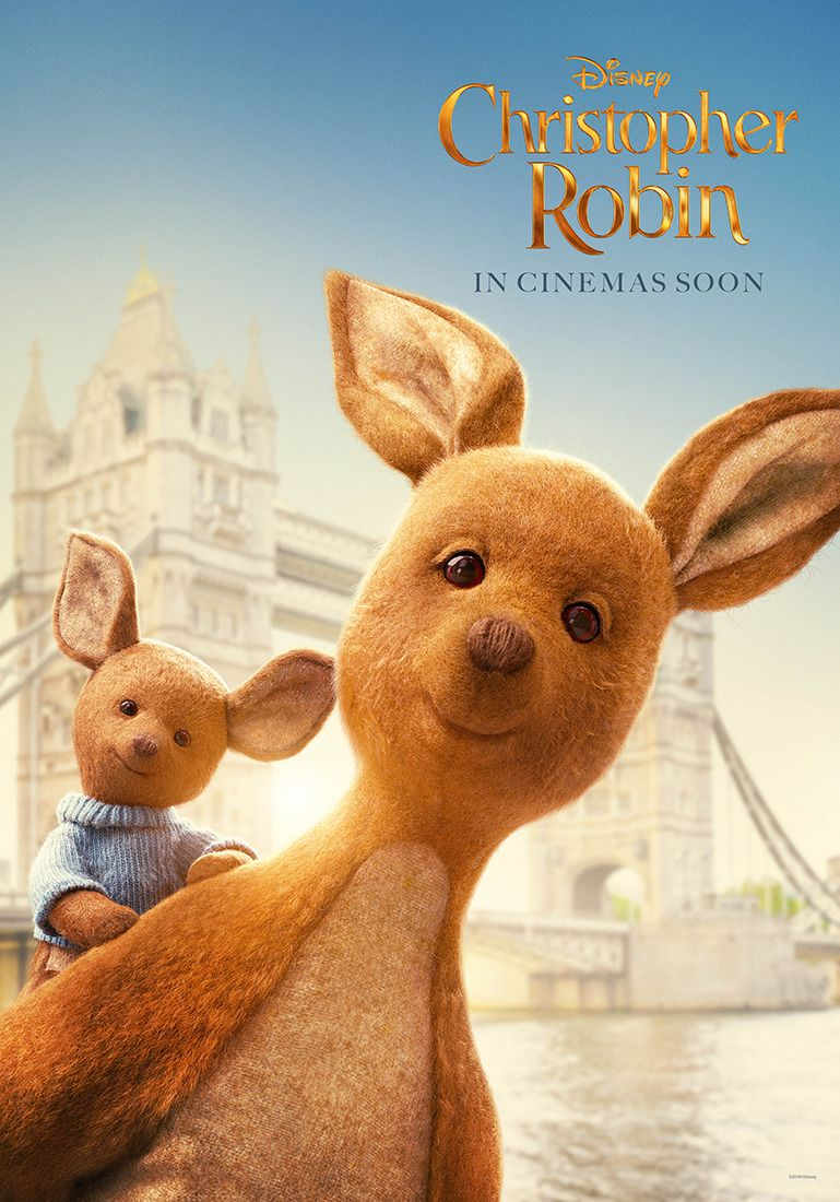 Christopher Robin 2018 Kanga and Roo