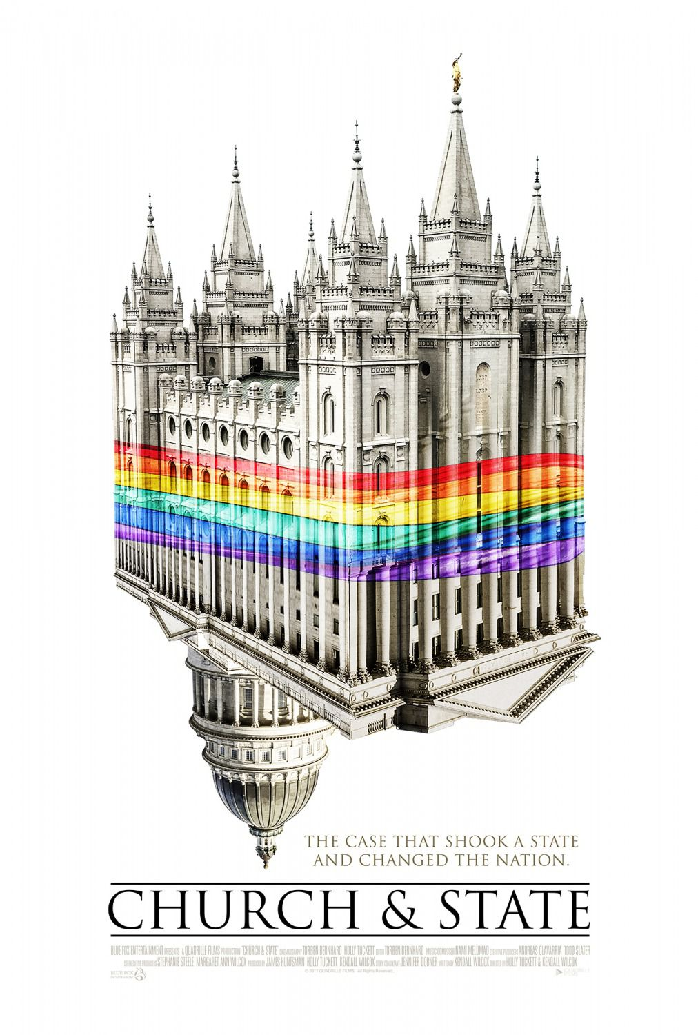 Church and State - The case that shook a state and changed the nation - Docu Film poster