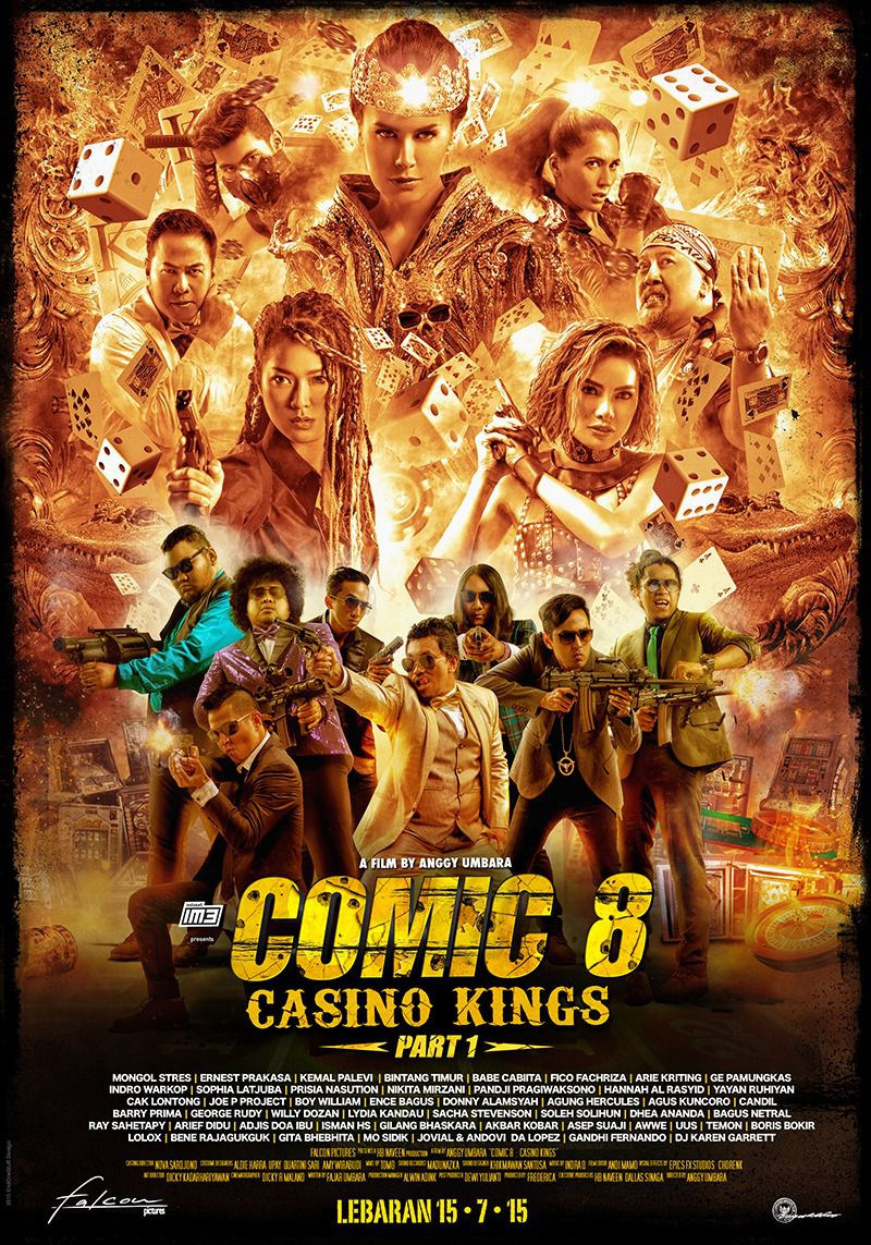Comic 8 Casino Kings part 1 - film poster