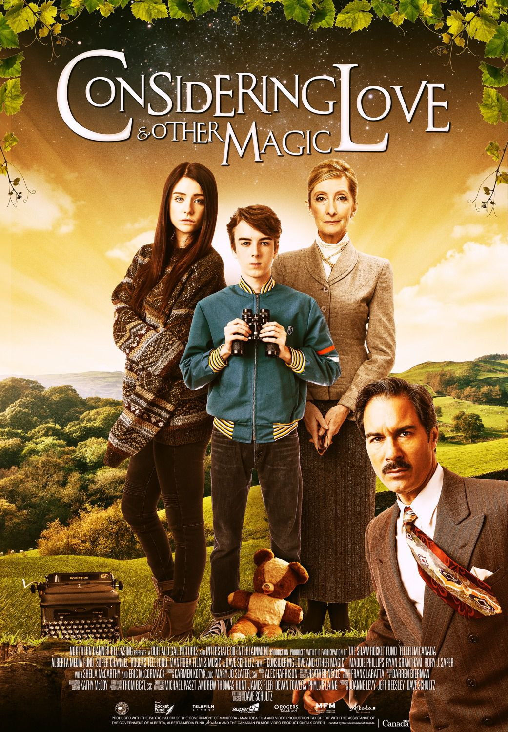 Considering Love and Other Magic - fantasy film poster