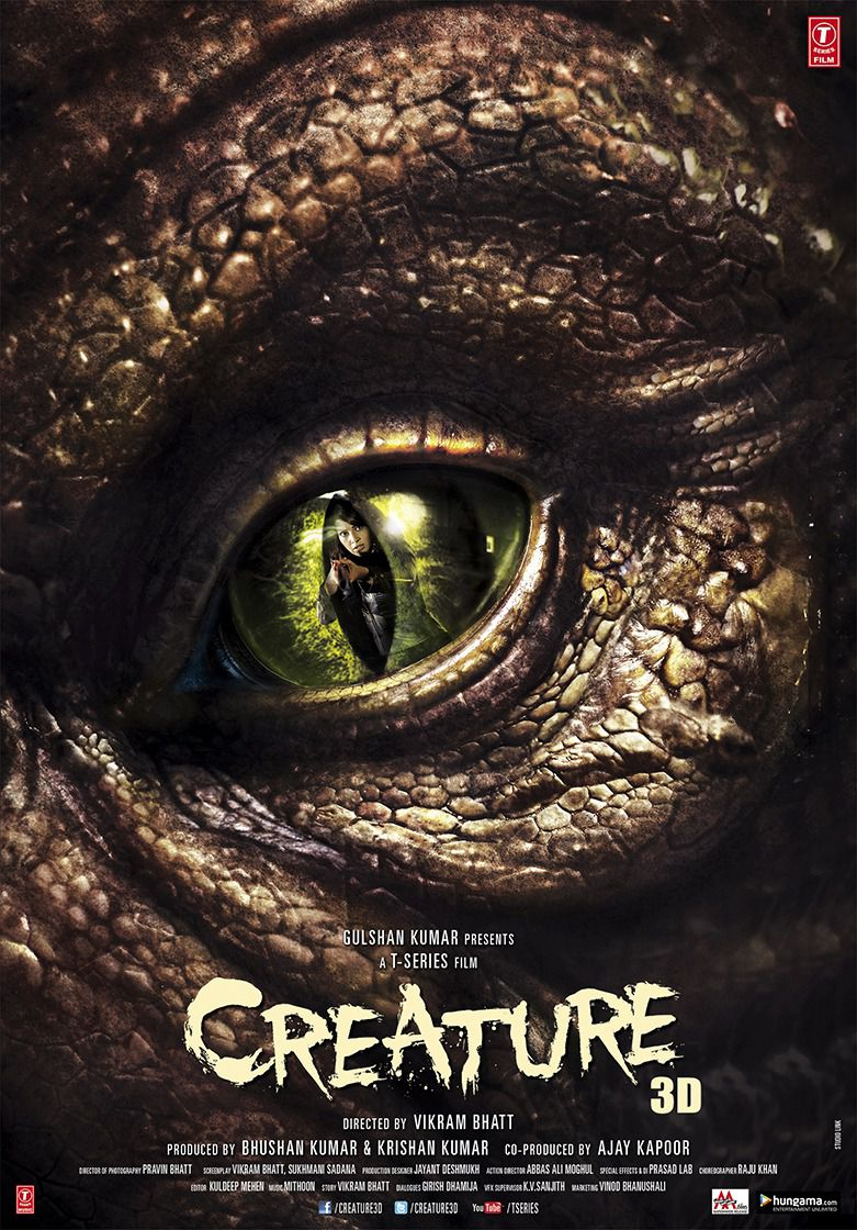 Creature - horror film poster