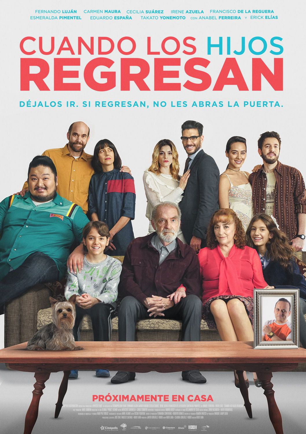 Cuando los Hijo Regresan - When the Son Returns - Quando il Figlio Ritorna - film poster