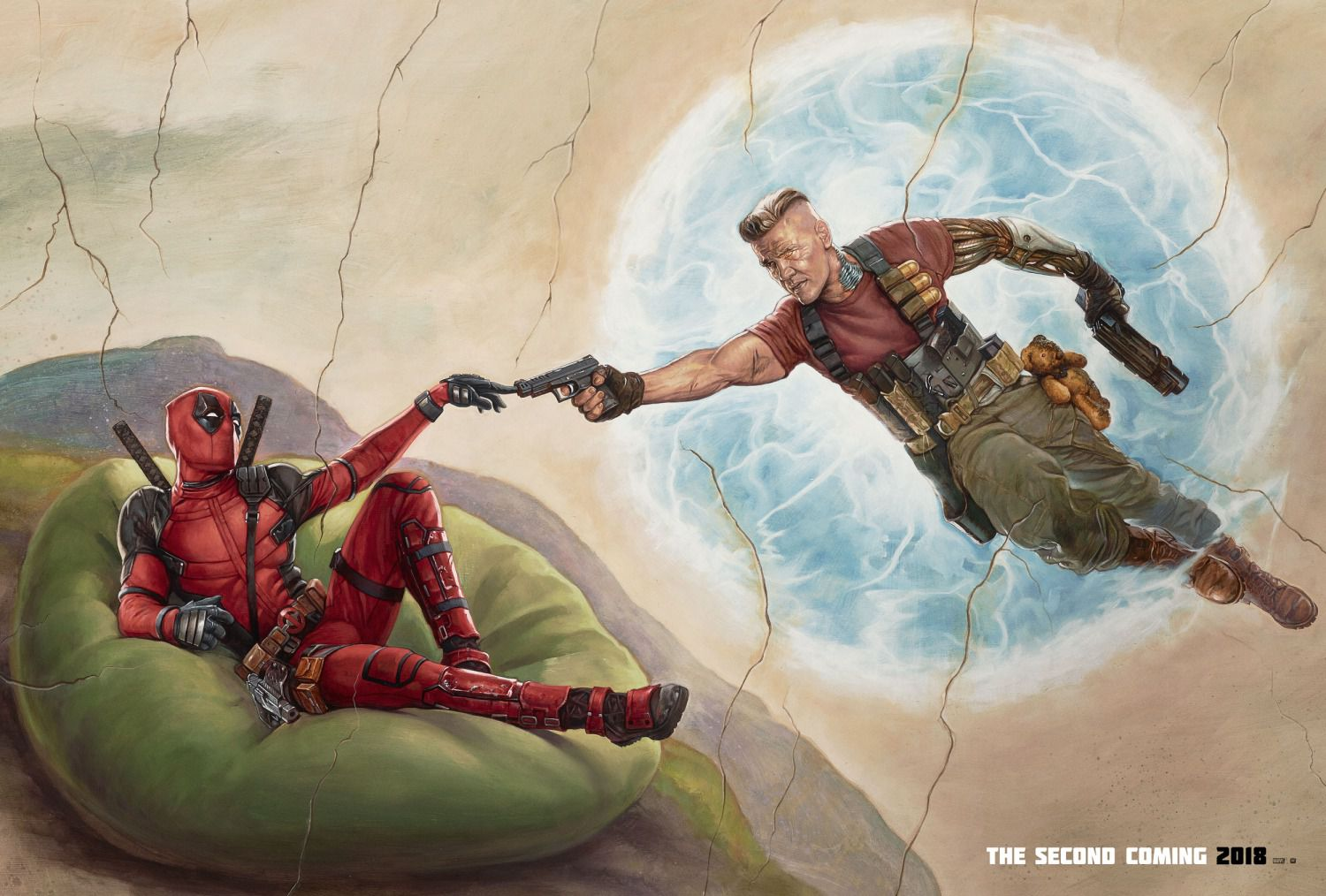 Deadpool 2 - poster - creation - Ryan Reynolds, Josh Brolin