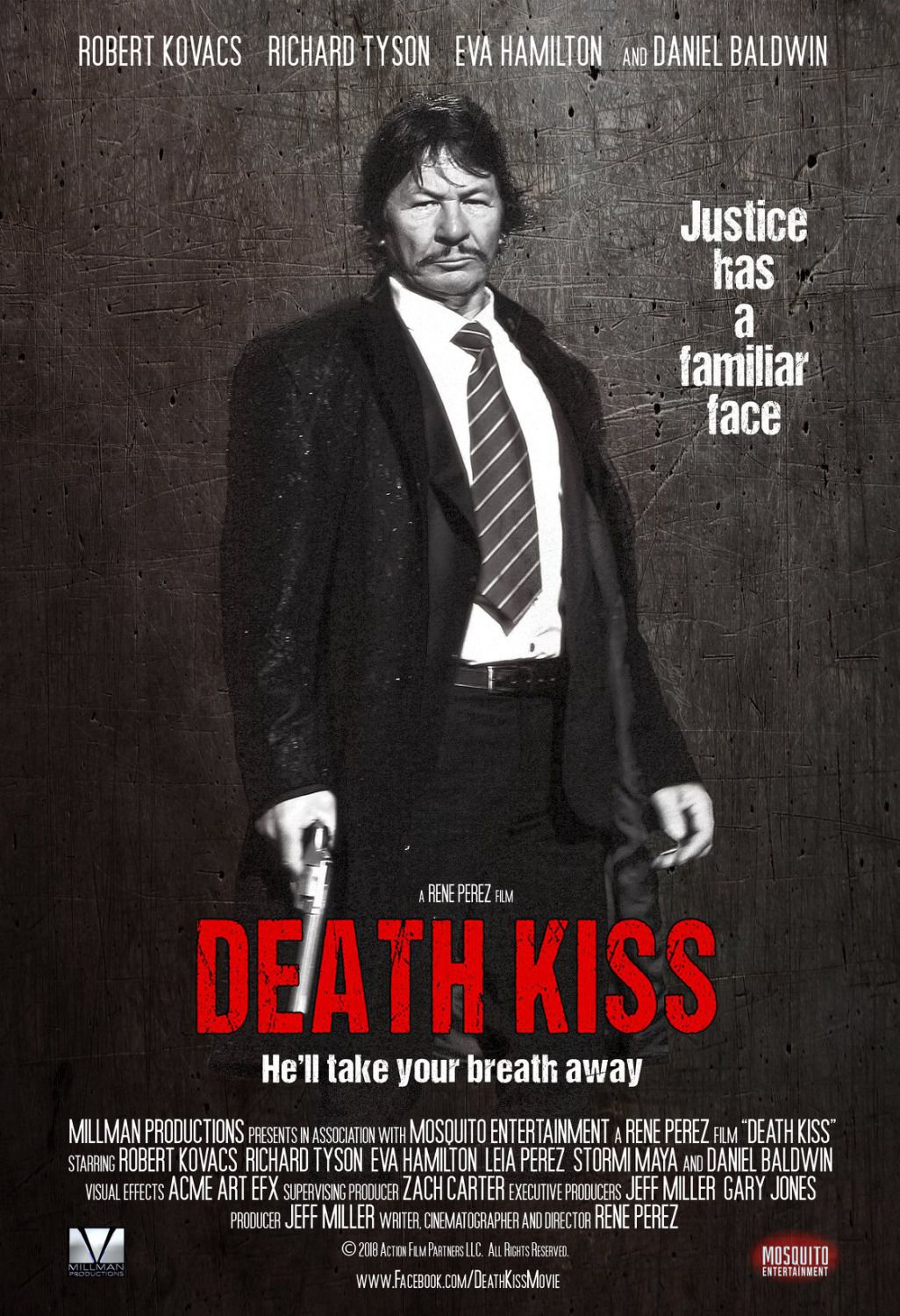 Death Kiss - Justice has a familiar face - 2018 film poster