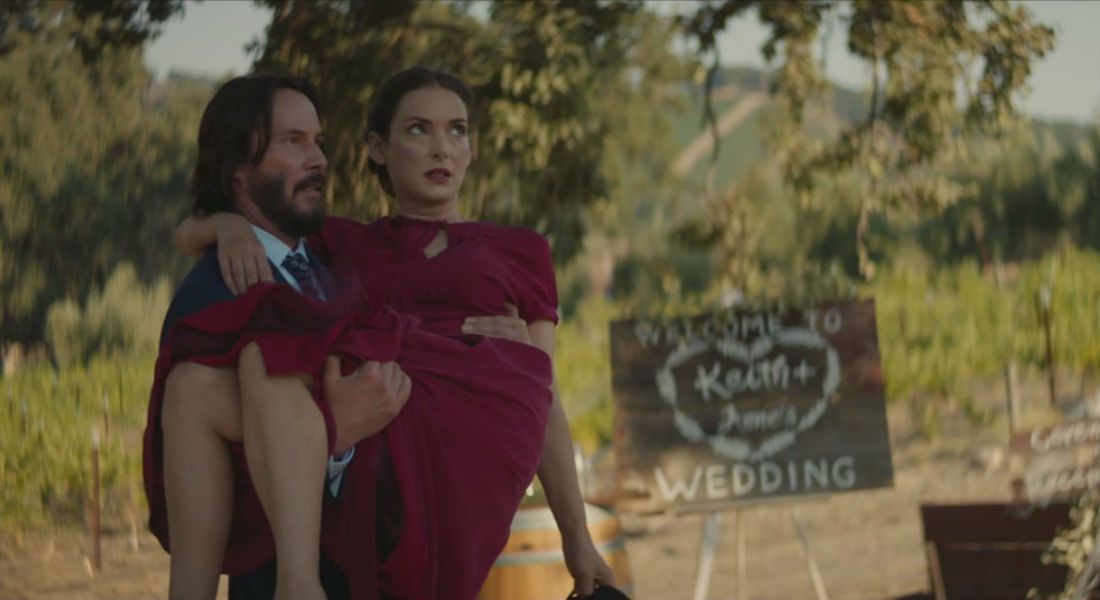 Destination Wedding - Love and Life Comedy - Cast: Keanu Reeves, Winona Ryder - Film poster 2018
