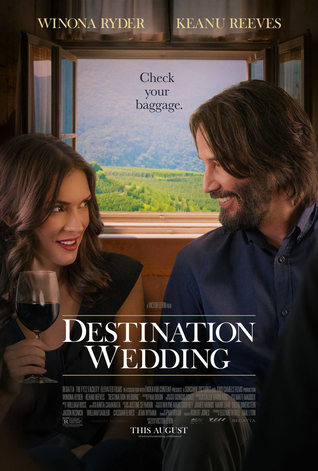 Destination Wedding  Film poster 2018