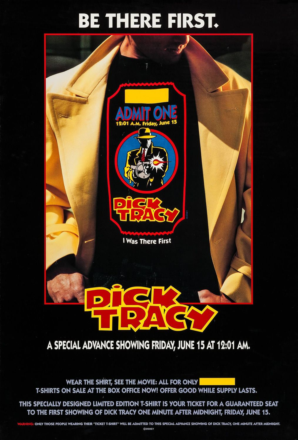 Dick Tracy (1990) - outfit