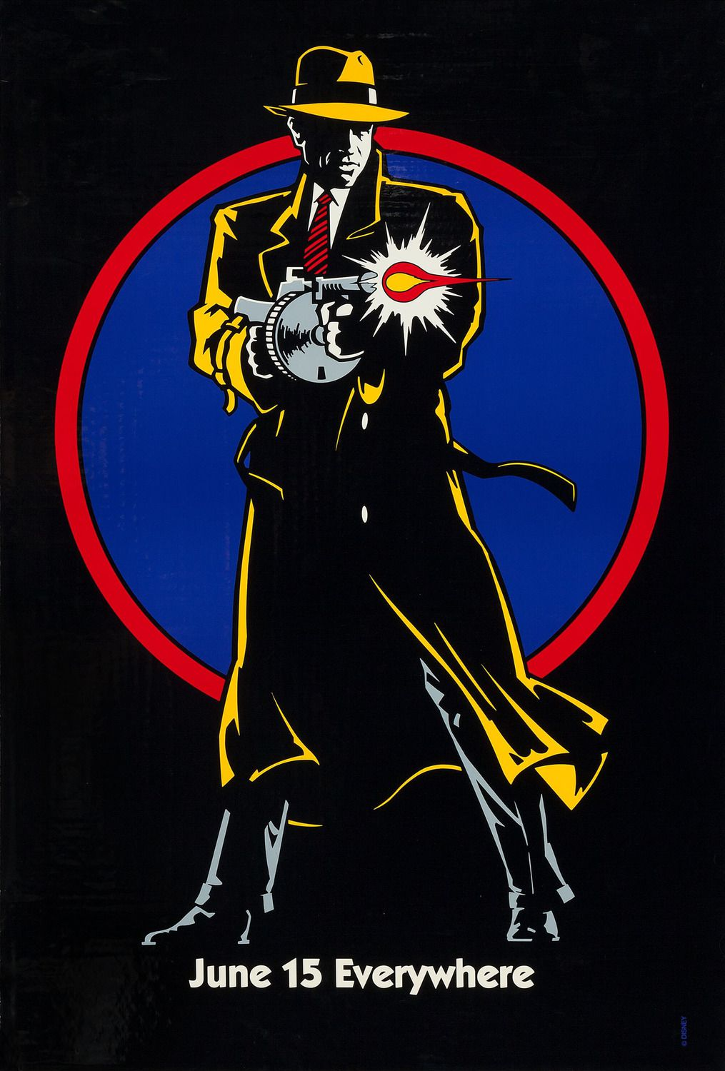 Dick Tracy (1990) - classic 90s poster collection