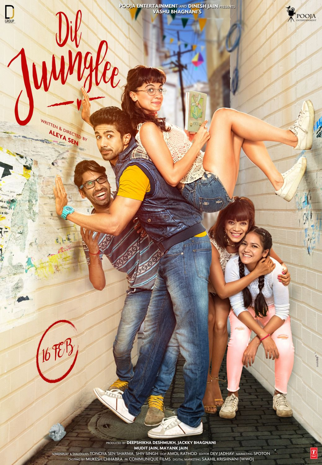 Dil Juunglee - Love Comedy Film Poster