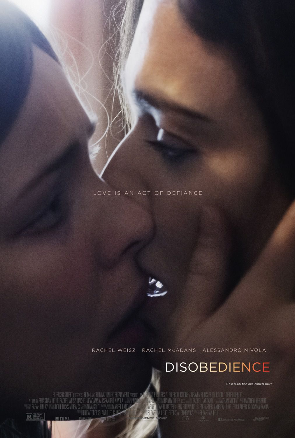 Disobedience (2018) - love drama poster