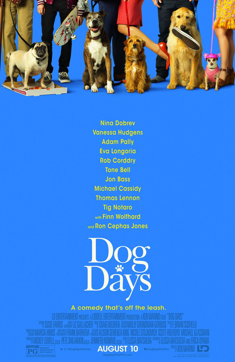 Dog Days 2018 - comedy film poster