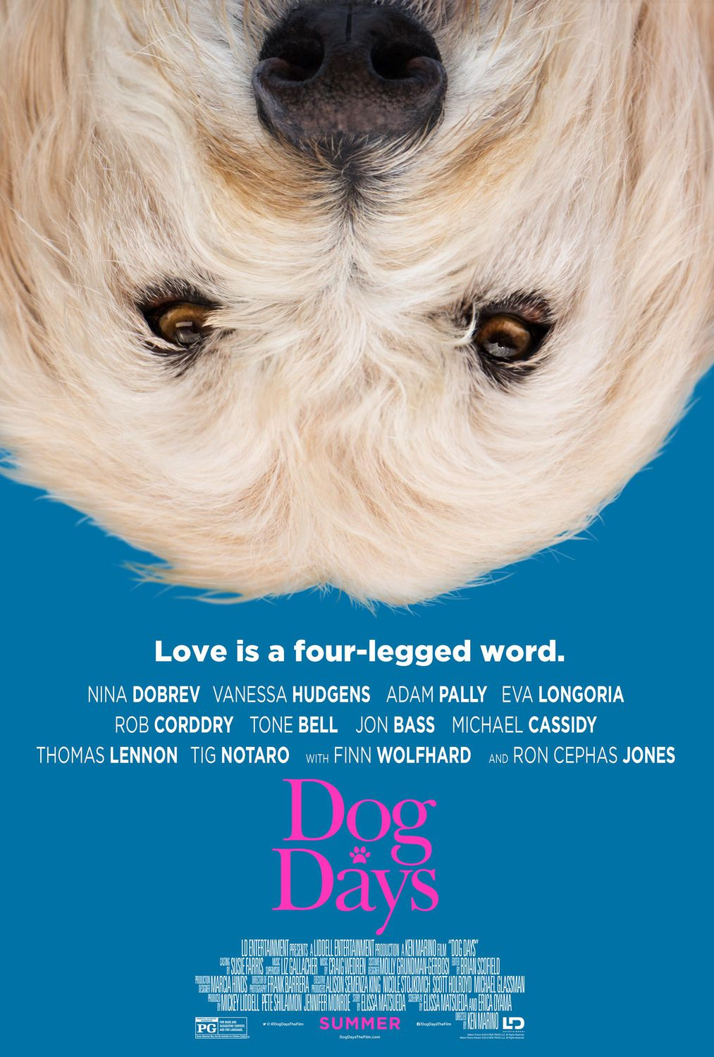 Dog Days (2018) - Love is a four-legged word
