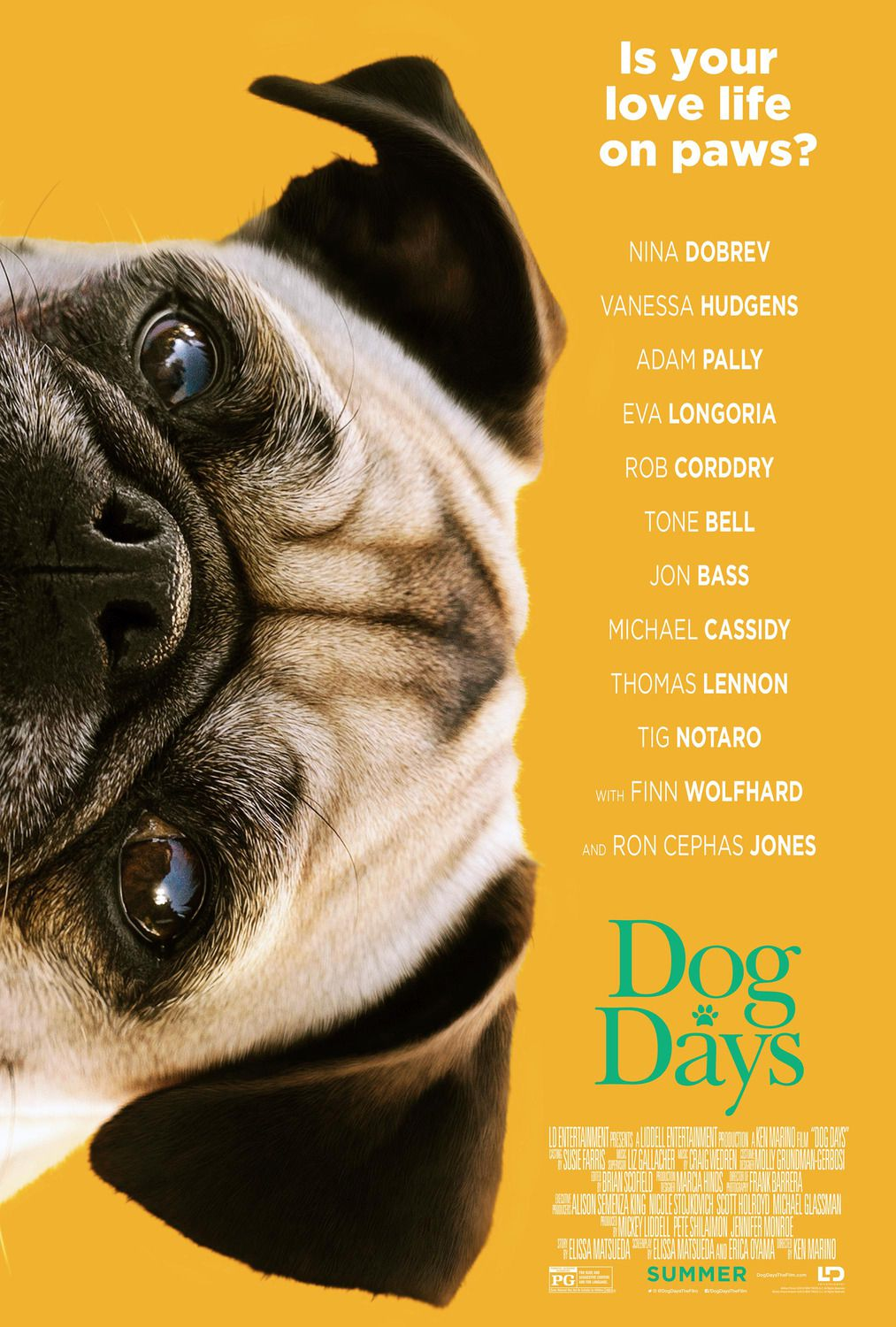 Dog Days (2018) - Carlino poster