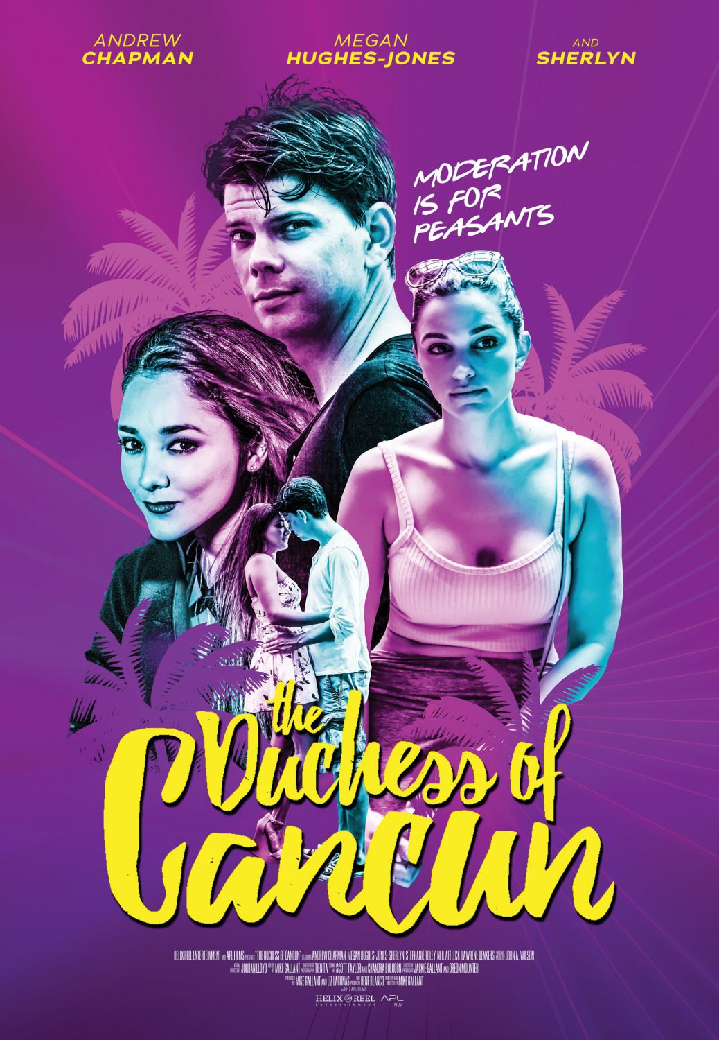 Duchess of Cancun - love film poster