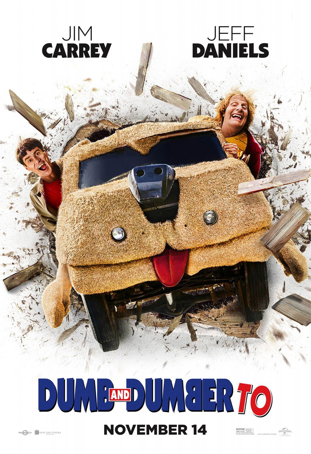 Scemo e più Scemo 2 - Dumb and Dumber to (2014) - dog car