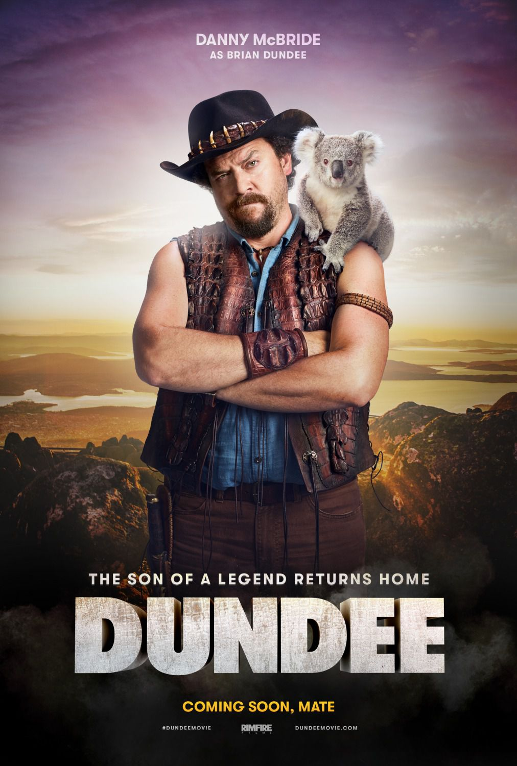 Dundee the Son of a Legend Returns Home - film poster