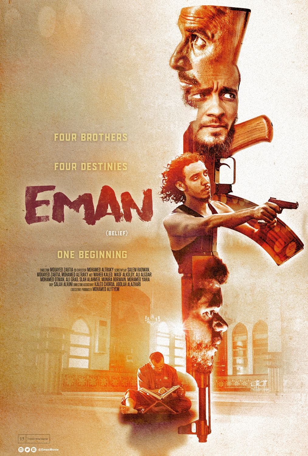 Eman - Belief - four brothers, four destinies, one beginning - film poster