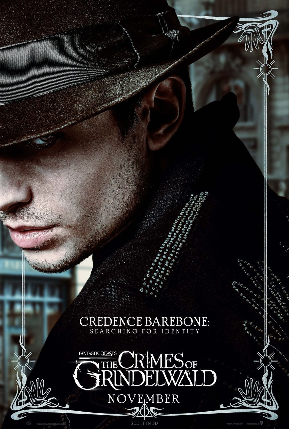 Credence Barebone searching for identity