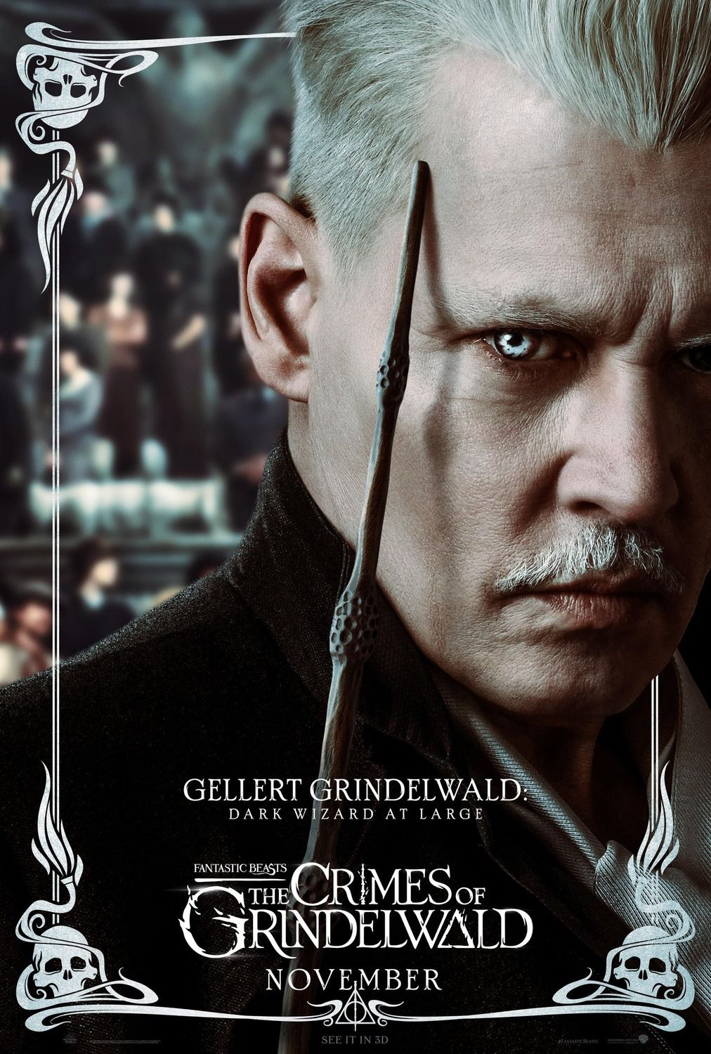 Gellert Grindelwald dark wizard at large