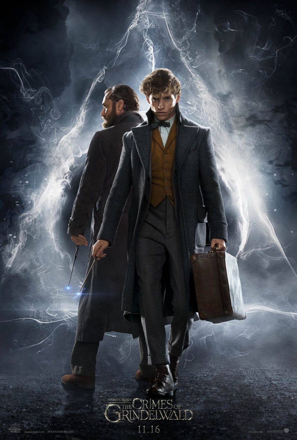 Fantastic Beasts the Crimes of Grindelwald - fantasy film poster 2018