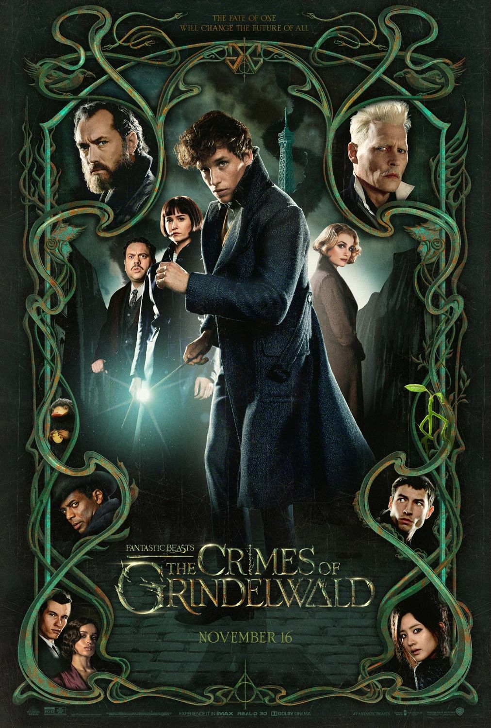 Animali Fantastici 2 e i Crimini di Grindelwald - Fantastic Beasts the Crimes of Grindelwald - Eddie Redmayne