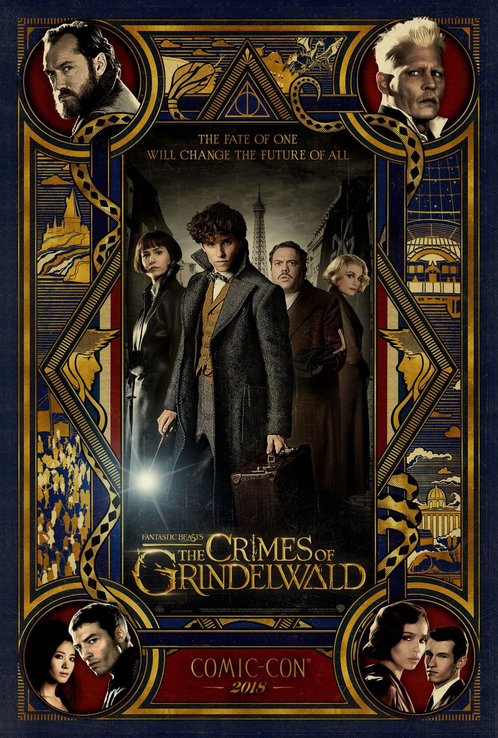 Fantastic Beasts the Crimes of Grindelwald 2018 fantasy film poster