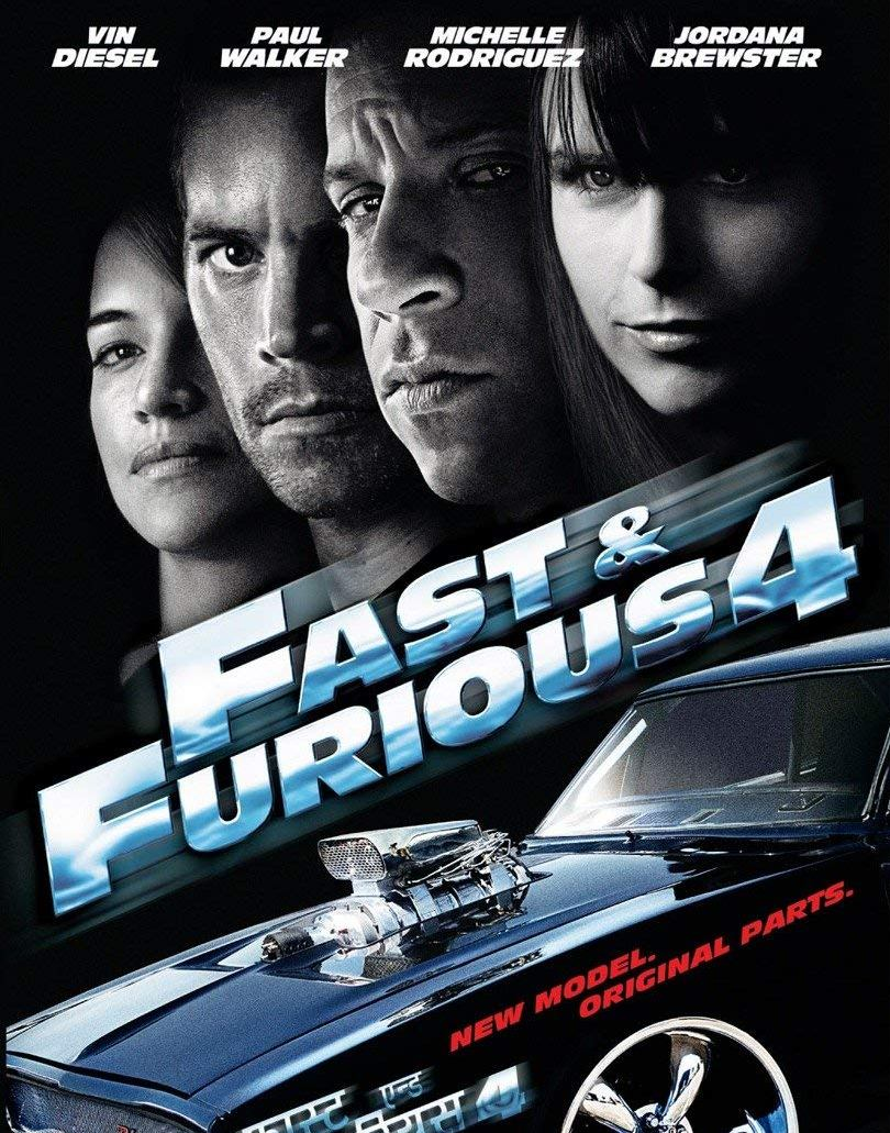 Fast and Furious 4 solo parti originali (2009)