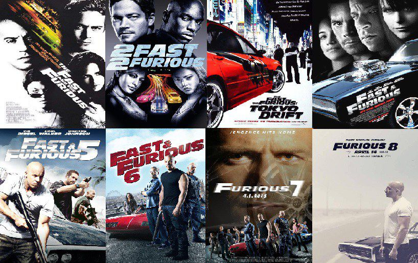 Fast and Furious Saga