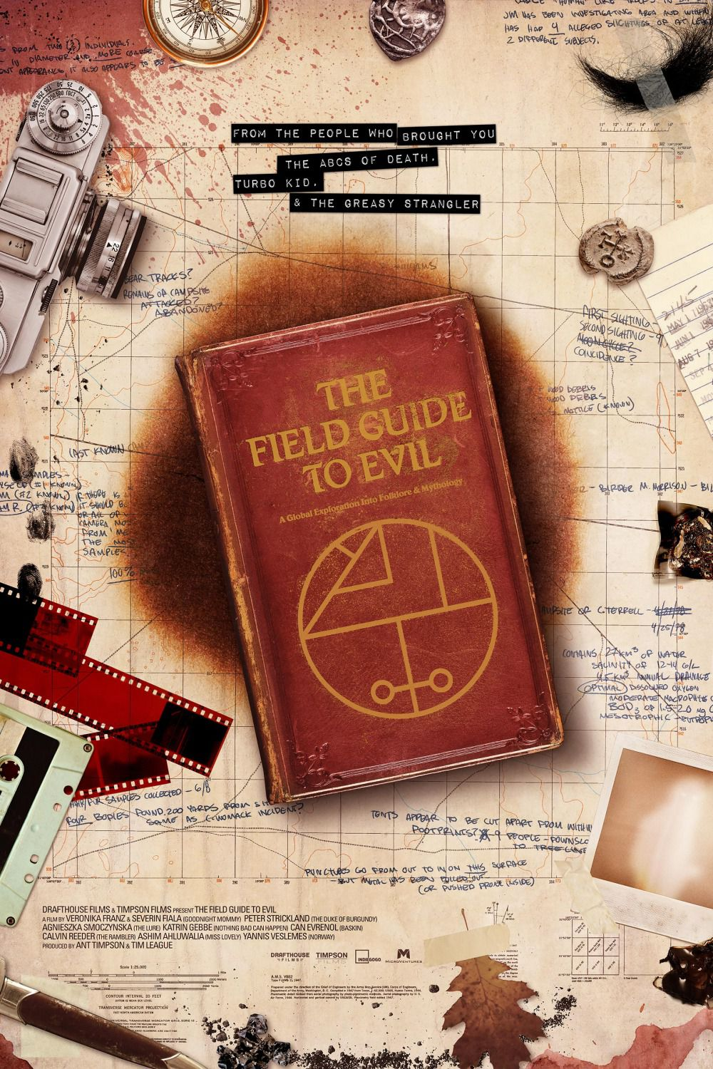 Field Guide to Evil - film poster book
