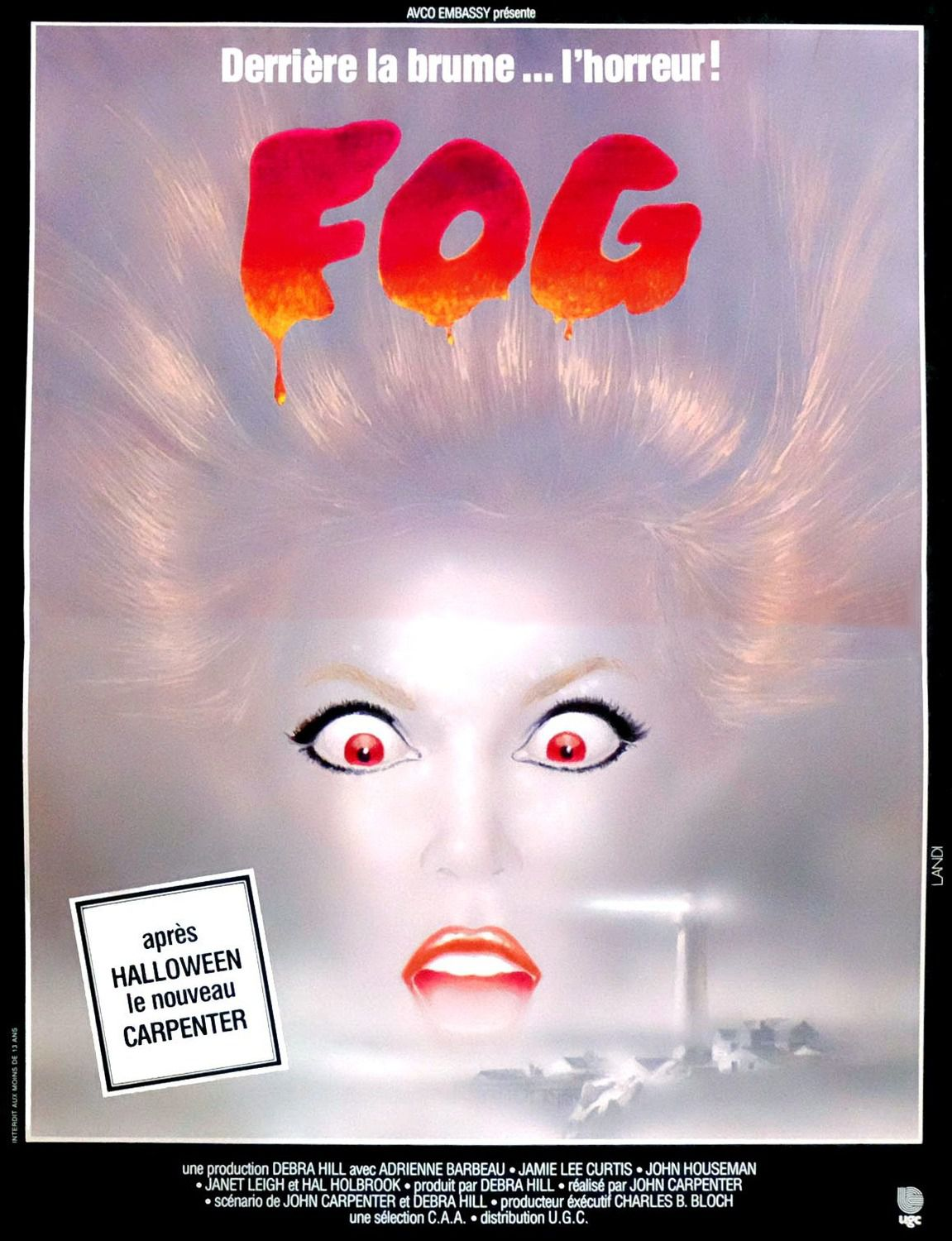Fog (1980) by John Carpenter
