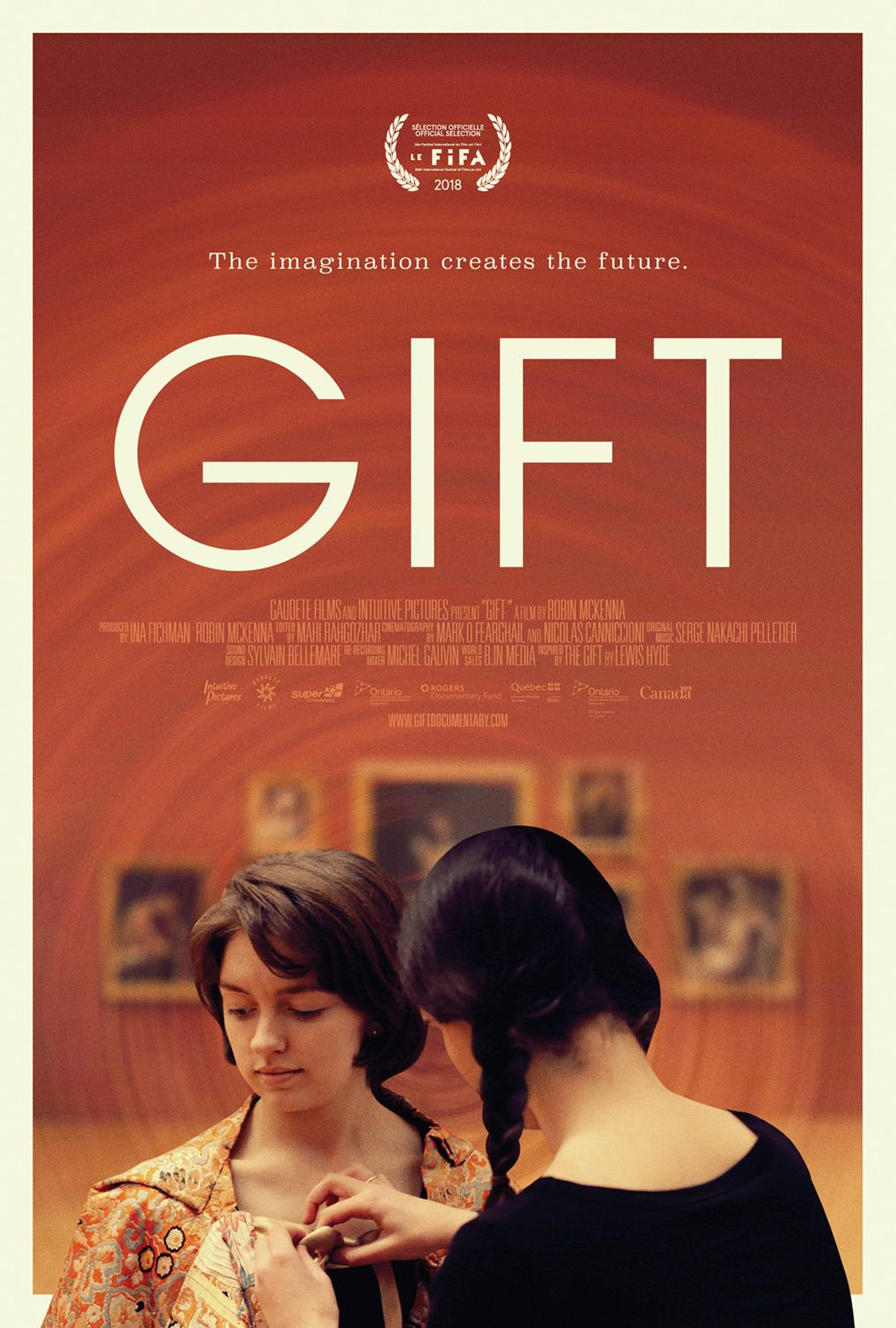 Gift - The imagination creates the future - film poster