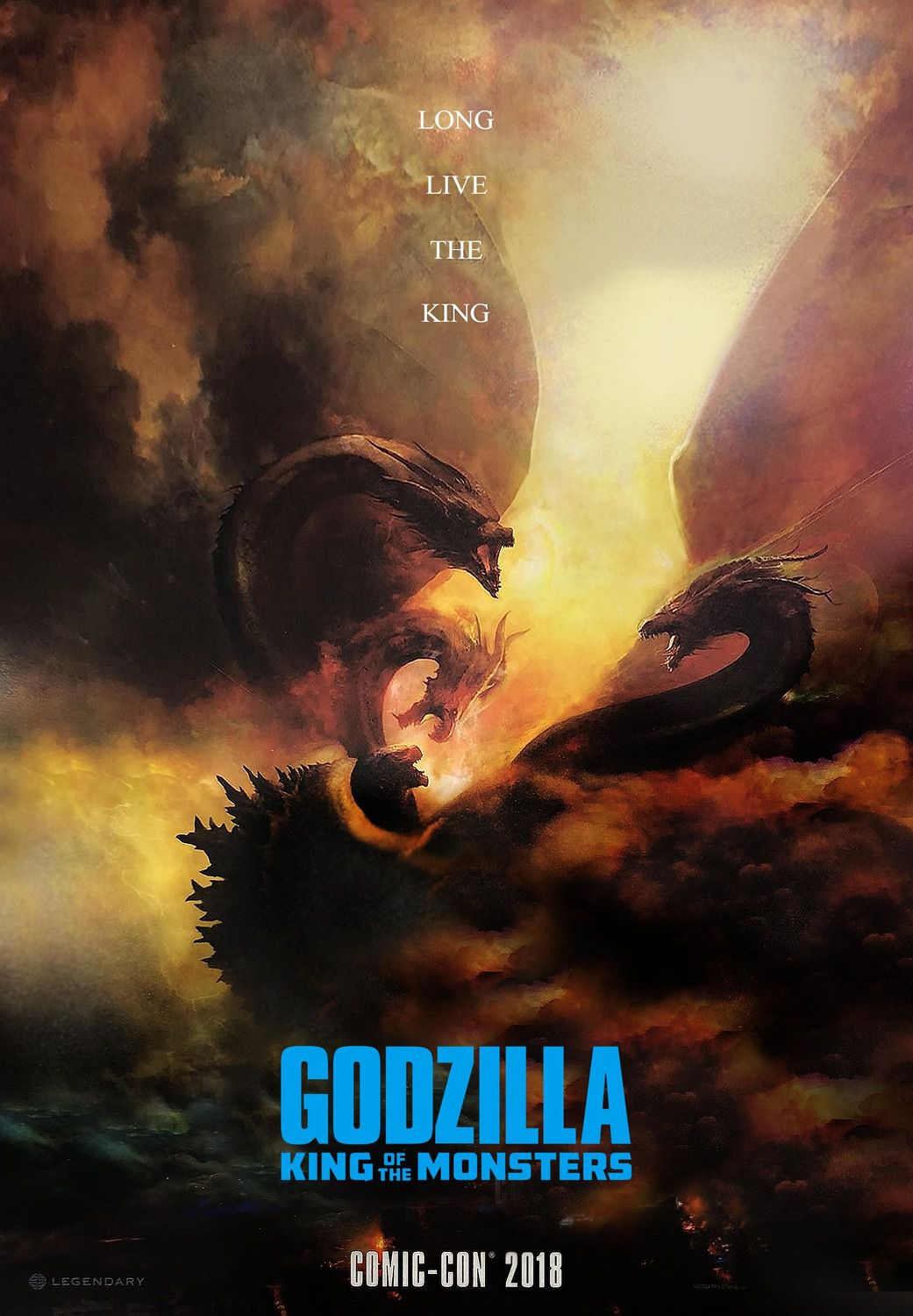 Godzilla King of the Monsters (2019) - film poster