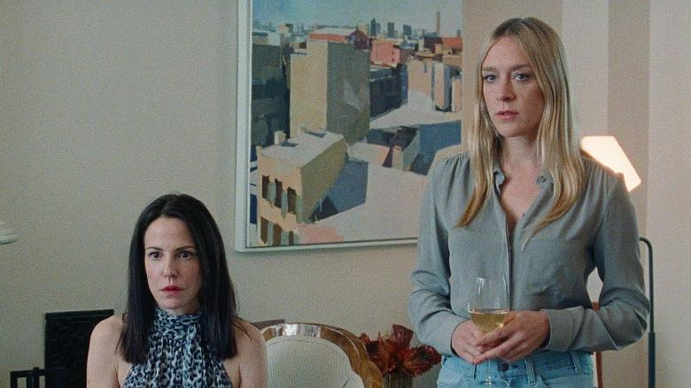 Golden Exits - Mary Louise Parker and Chloe at home