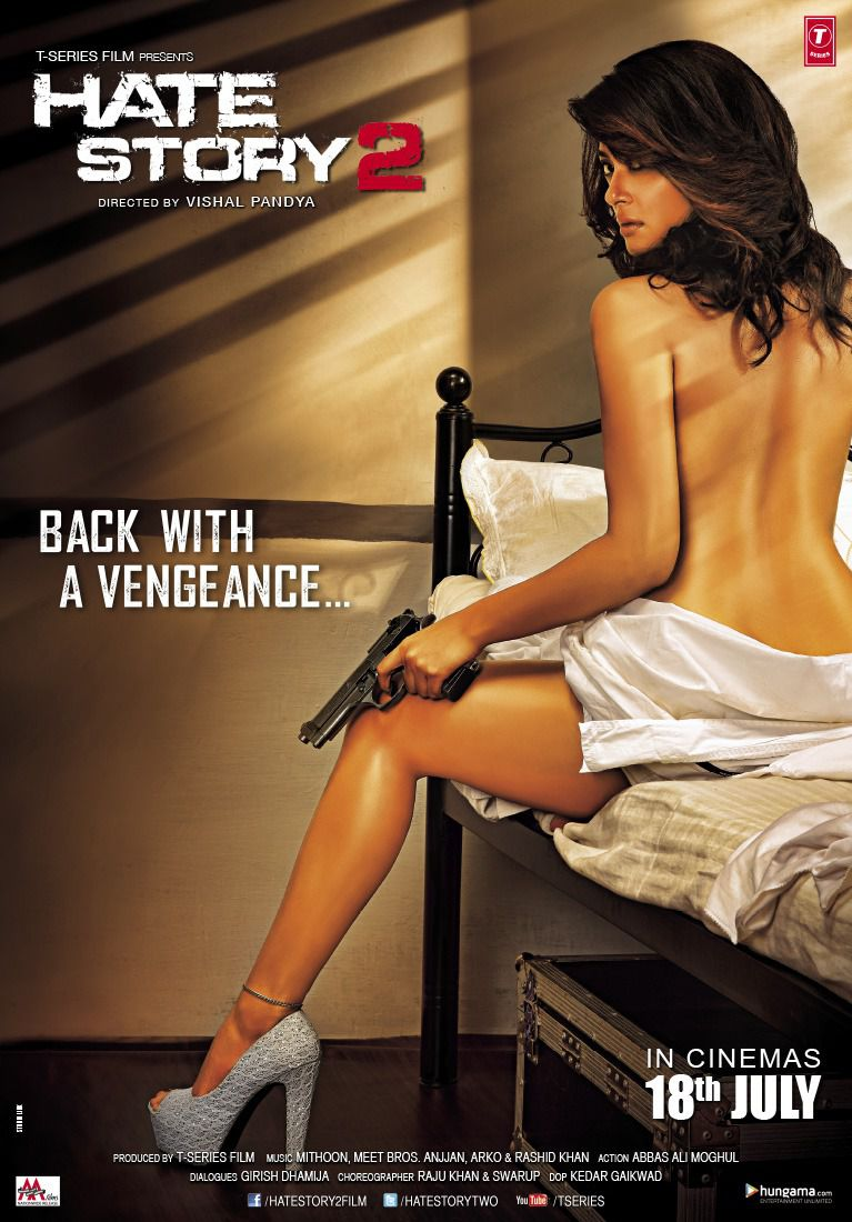 Hate Story 2 - Back with a Vengeance - film poster