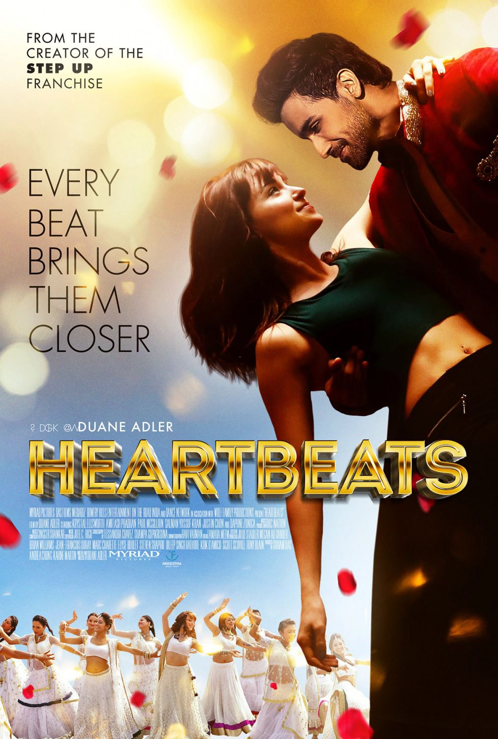 Heartbeats - Every beat brings them closer - dance film poster