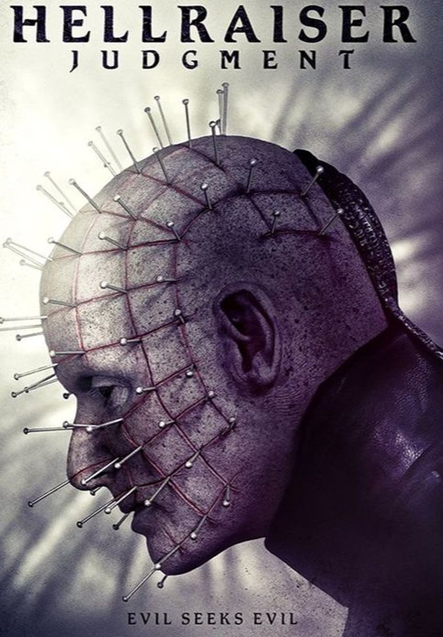 Hellraiser: Judgment - film horror poster