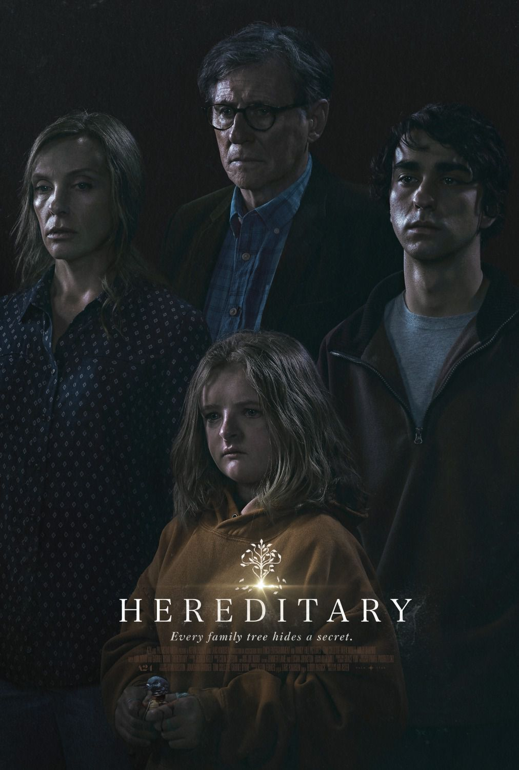 Hereditary - Every family tree hides a secret - poster 2018