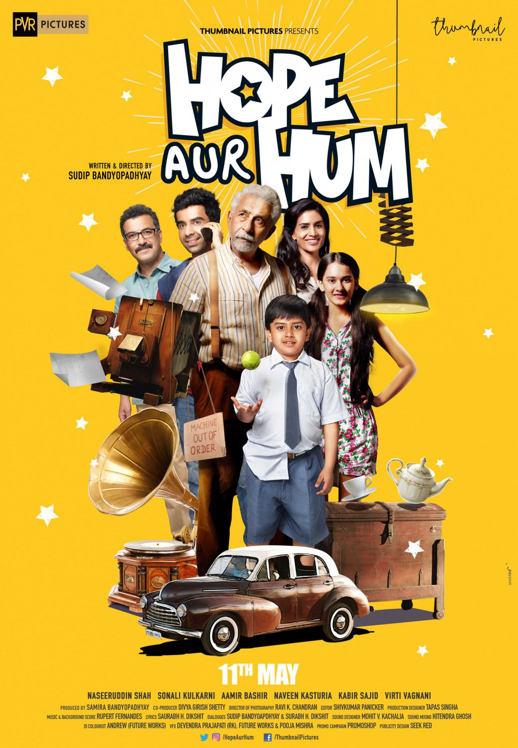 Hope Aur Hum - comedy film poster