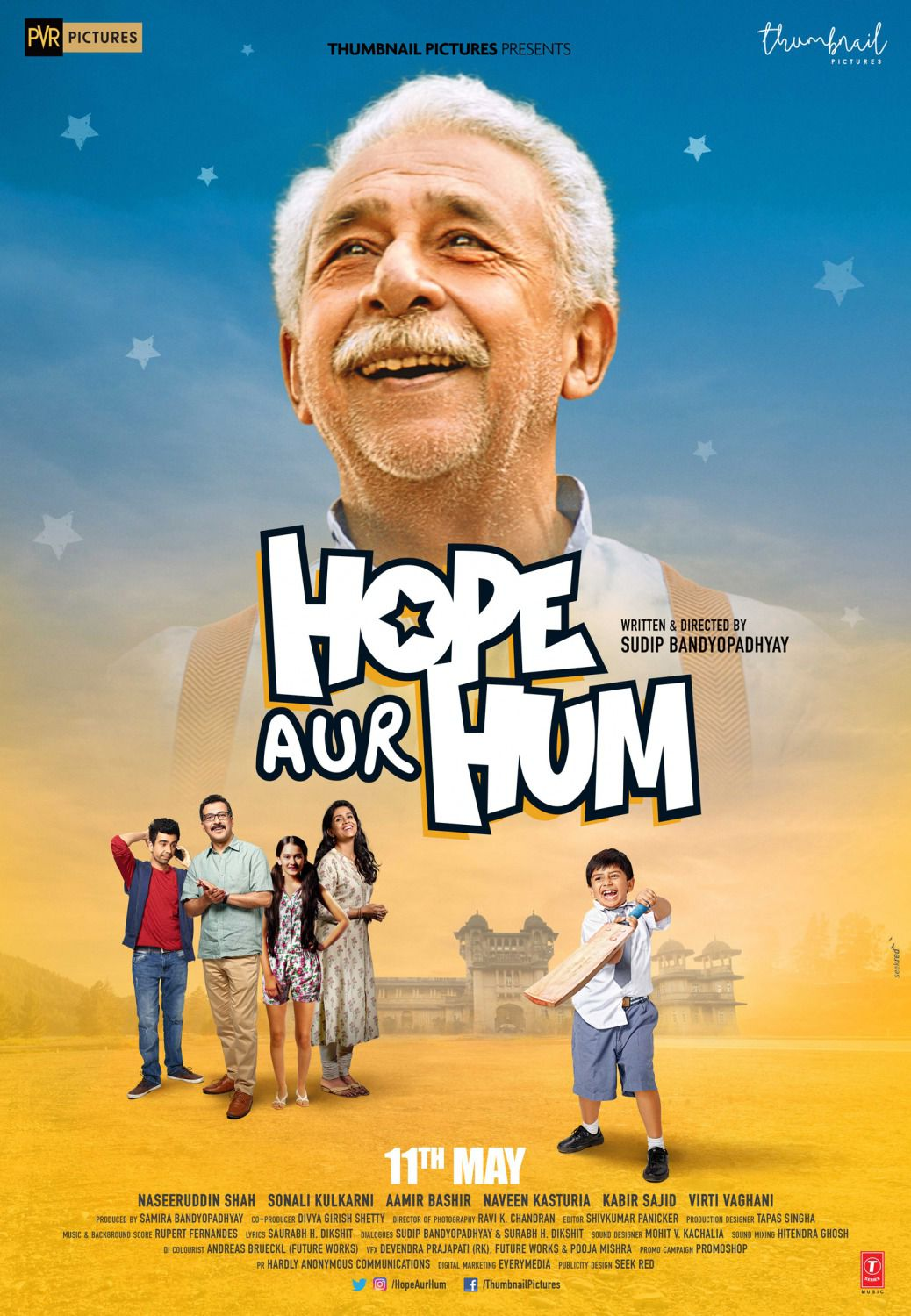 Hope Aur Hum (2018) - comedy film poster