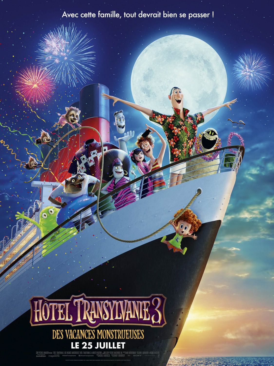 Hotel Transylvania 3 Summer Vacation - Titanic